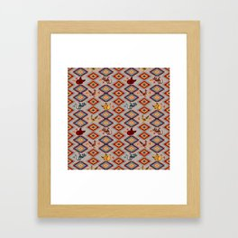 Desert World Framed Art Print