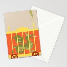 Beast Train Stationery Cards