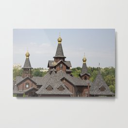 Beautiful old building, monastery, church Metal Print