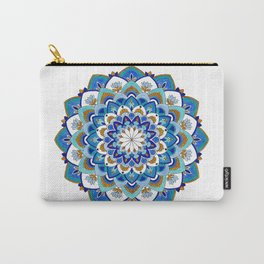MauindiArts Virtue Mandala Print Carry-All Pouch