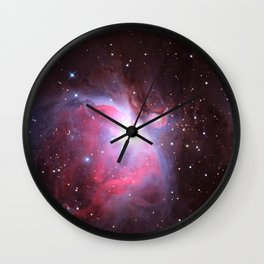 Great Nebula in Orion Wall Clock