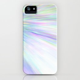 Re-Created Rapture 3 by Robert S. Lee iPhone Case