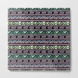 Tribal Print - Vibrant Metal Print