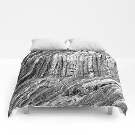 Flowing Cliffs Comforters