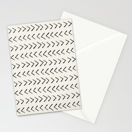 Arrows on Alabaster Stationery Cards