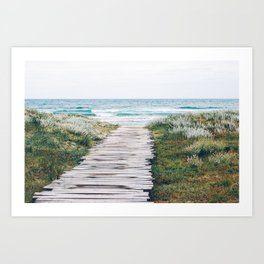 Path to my Heart Art Print