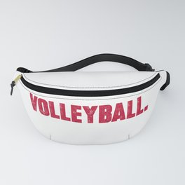 Funny volleyball design Eat Sleep Volleyball Repeat Gift Fanny Pack