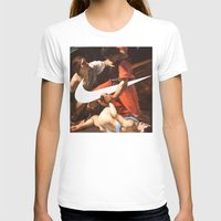 nike T-shirts featuring Fight Nike by CHESSOrdinary