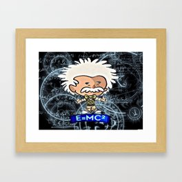 Tiny Einstein Framed Art Print