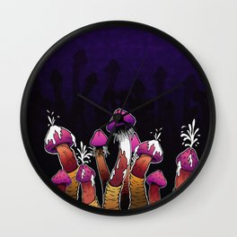 Infected Mushroom Wall Clock