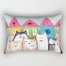 Alleycats Rectangular Pillow