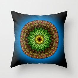 Mandala doodle 0019 Throw Pillow