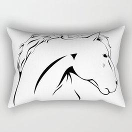 Horse Power Rectangular Pillow