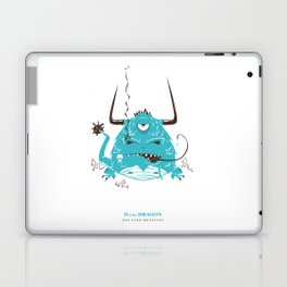D is for Dragon Laptop & iPad Skin