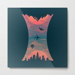 Sunrise / Sunset (alternate) Metal Print