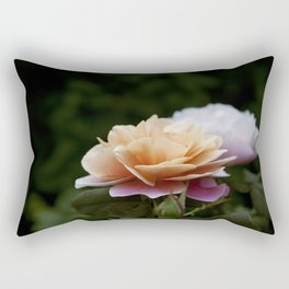 Lily Pad Rose Rectangular Pillow