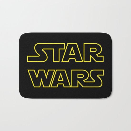 Star Logo Wars Bath Mat
