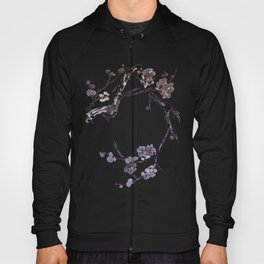 Plum blossom sumie ink painting Hoody