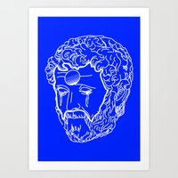 greek Art Prints featuring Greek Cry by Bombarda
