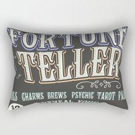 Mystical Fortune Teller poster Rectangular Pillow