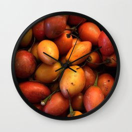 Tomate de arbol Colombia Wall Clock