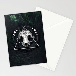 Animal Skull Occultist Stationery Cards