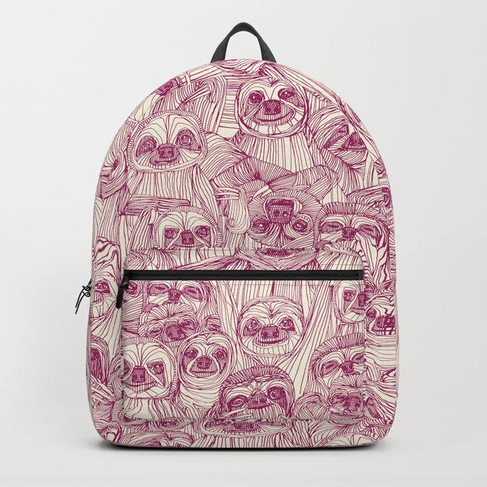 just sloths cherry pearl Rucksack