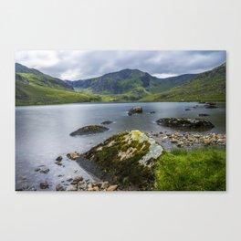 Llyn Ogwen Glyder Fawr Canvas Print