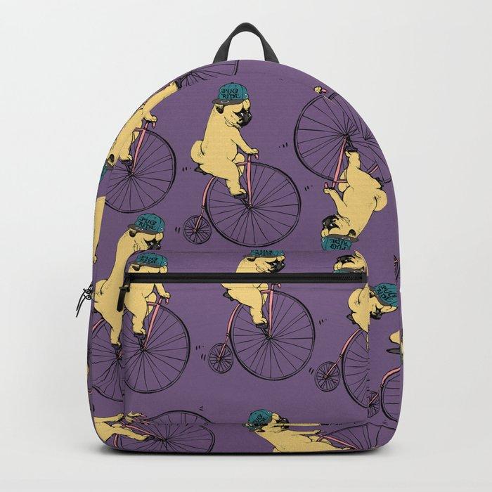 Pug Ride Backpack