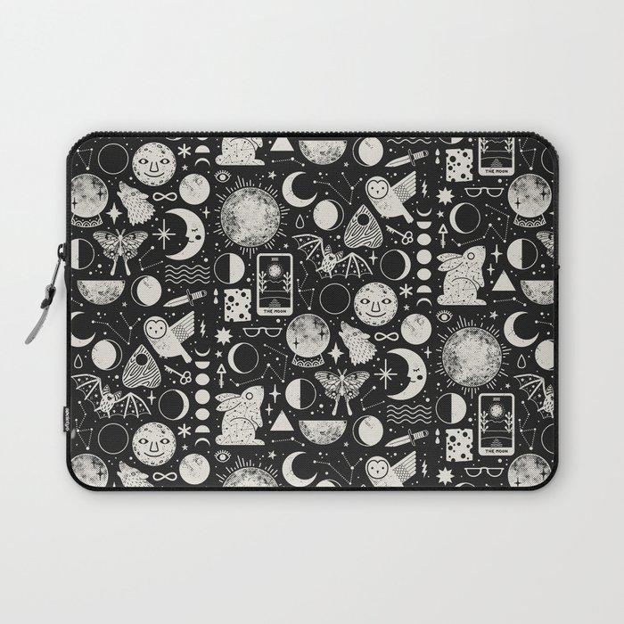 Lunar Pattern: Eclipse Laptop Sleeve