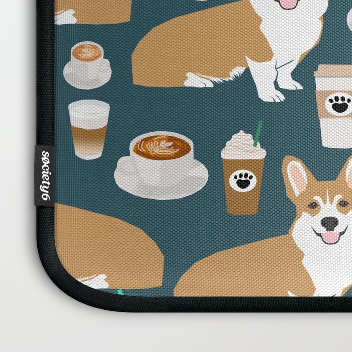 corgi coffee print corgi coffee pillow corgi iphone case corgi dog