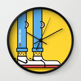 Chook Swoosh Wall Clock