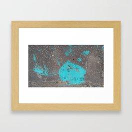 Blue Not The Sky Framed Art Print