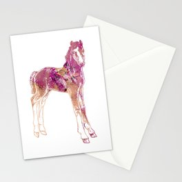 Standing Foal Stationery Cards