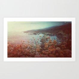 Gloomy on the Coast Art Print