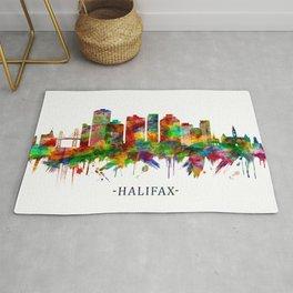 Halifax Canada Skyline Rug