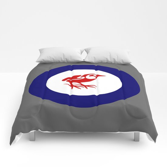 Rockwren Air Force Roundel Comforters