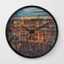 Time shadow Wall Clock