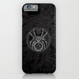 White Mechanical Spider iPhone Case