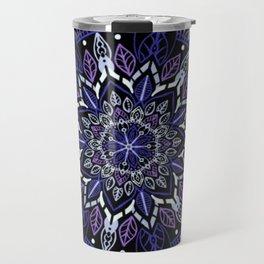The Purple Mandala Travel Mug