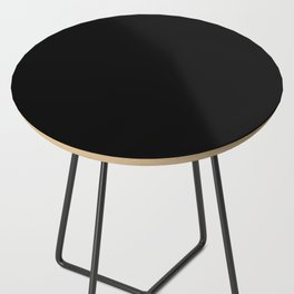 Simply Midnight Black Side Table