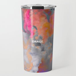 Orage (Colorful clouds in the sky III) Travel Mug