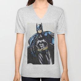Bat-Man Unisex V-Neck