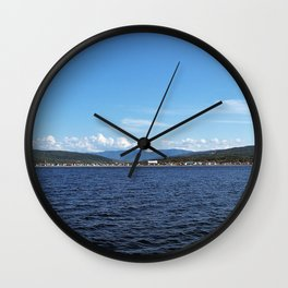 Mount Albert from the Sea Wall Clock
