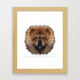 Chow Framed Art Print
