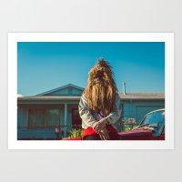 Wookie Boogie VII Art Print