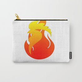 2017 - Fire Rooster Year T-Shirt Carry-All Pouch