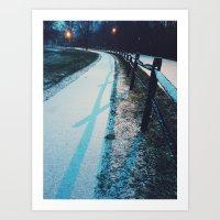 vienna Art Prints featuring Vienna by Olivia Lee
