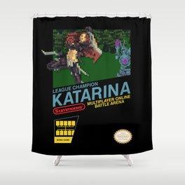 8-bit Champion: Katarina Shower Curtain