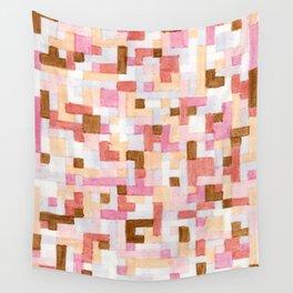 Nude Blocks 1 Wall Tapestry